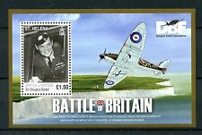 St Helena 2010 MNH WWII WW2 Battle of Britain 70th Douglas Bader 1v M/S Stamps