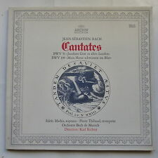 BACH Cantates BWV 51 BWV 199 EDITH MATHIS PIERRE THIBAUD KARL RICHTER 2533115