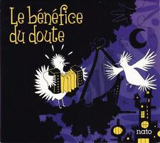 ALBUM CD - LE BENEFICE DU DOUTE - TIMOTHEE LE NET / MAEL LHOPITEAU - 2015 - NEUF