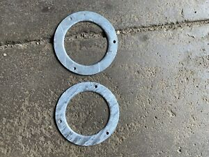 Land Rover Series Heater Intake Trim Ring GALVANIZED