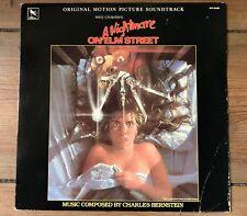 A NIGHTMARE ON ELM STREET - SOUNDTRACK VINYL LP RECORD SCHALLPLATTE - 1984
