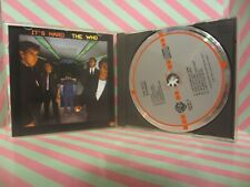THE WHO It's Hard CD 23731-2 CD TARGET WEST GERMANY