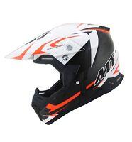 MT Synchrony Steel Motocross Helmet Orange MX Bike Crash Lid Off Road ATV Quad