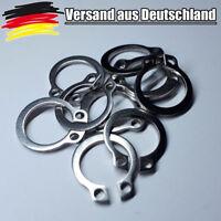 5x Sicherungsring Aussen Rueckhalte Nenn-Ø 10 Ring C-Clip Sicher 10 mm L0177