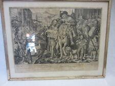 KUPFERSTICH - KARL GUSTAV AMLING (1651-1702) NÜRNBERG - OTTO v. WITTELSBACH 1697