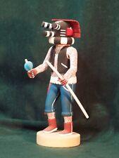 Hopi Kachina Doll -  the Mocking Kachina  by Conrad Torivio - Irresistible!