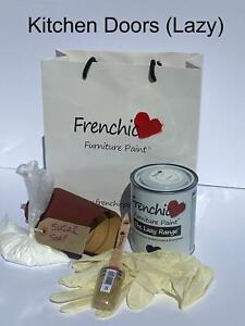 Frenchic Lazy Range Chalk Mineral Kitchen Door Paint Kit No Wax 750ml FREEPOST