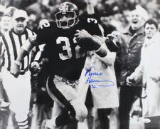 Franco Harris Autographed/Signed Pittsburgh Steelers 16x20 Photo JSA 24906 PF