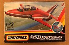 Matchbox Red Arrows Hawk T. Mk1 Vintage Model Kit Scale 1:72
