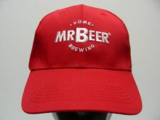 MR BEER HOME BREWING - RED - ONE SIZE ADJUSTABLE BALL CAP HAT!