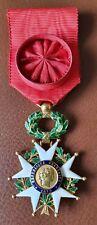 Officier Ordre de la Légion d'Honneur 3ème République en Or.