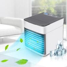 Portable Refroidisseur d'air Espace Personnel Refroidisseur d'air Purificateur Climatiseur, lumière DEL
