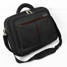 15.6 inch Laptop Bag with shoulder Strap Black For 15.6 Inch Laptops (Black/Red)