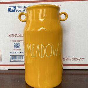 "Rae Dunn ""MEADOWS"" Vase VHTF 2021 New Release"