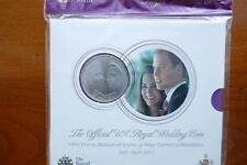 British - 2011  Five Pounds  in Mint Pack - William & Catherine