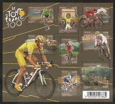 2013 Bloc N° 4755 CYCLISME 100 eme Edition du TOUR DE FRANCE  NEUF**LUXE