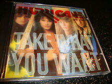 HURRICANE hair metal cd TAKE WHAT YOU WANT enigma 10045 free US ship