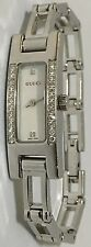 New Ladies Authentic womens Gucci 3900 YA039512 factory Diamond mop dial Watch
