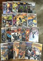 Transformers #0-45 **25 MIXED ISSUE LOT** (IDW 2009) Variant Copies - NM