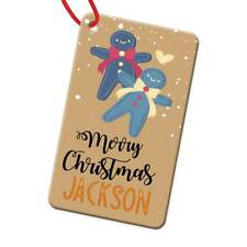 Personalised Any Name Rectangle Christmas Bauble Tree Decoration Gift 185