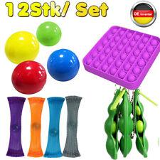 12 Stk /Set Fidget Sensory Toys Autismus ADHS SEN Stressabbau Pop It Fidget Toys
