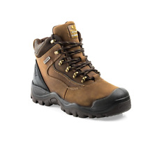 Buckler Buckshot BSH002 Leather Lace Safety Boots Work Boots