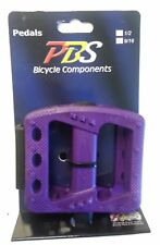 PL366LV Purple New Bicycle pedal 9/16 platform bmx cruiser urban fixie mtb bike
