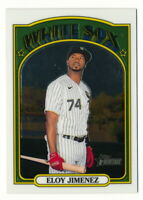 ELOY JIMENEZ 2021 TOPPS HERITAGE CHROME #453/999 CHICAGO WHITE SOX #191