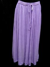 Skirt Renaissance Fair RenFair Old West Pioneer Mormon Trek one size Lavender