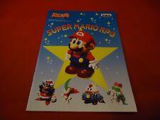 Super Mario RPG Super Nintendo SNES RARE Promotional Notebook Japan Promo *NEW*