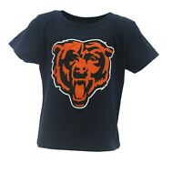 Small Defect Chicago Bears Official NFL Apparel Infant Toddler Size T-Shirt New