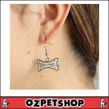 Crystal Bone Earrings by Hamish McBeth