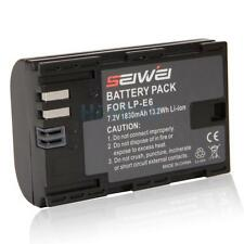 Battery for Canon EOS 6D 60D 7D 70D 5D Mark II III DSLR Camera LP-E6 Li-ion