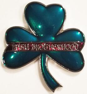Red Lives Matter Irish Brotherhood Shamrock Firemen Challenge Coin (non FDNY)