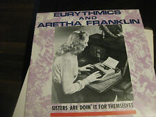 "Eurythmics and Aretha Franklin; Sisters Are Doin It For Themselves  12 "" single"
