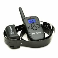 Petrainer Dog Training Collar Rechargeable Remote Control Dog Shock Bark Collar