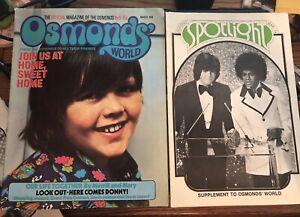Osmonds' World Magazine + Spotlight Supplement - March 1974 - Michael Jackson