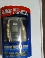 New Zebco Model Zf200 Portable Handheld Hand Held Fish Finder No Boat Required