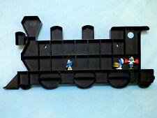 Bully`s Setzkastenexpress Setzkasten für Figuren Lokomotive braun für Schlümpfe