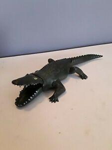 Playmobil - großes Krokodil, dunkelgrün, rar (6)