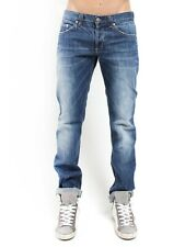 Dondup Music UP008 Jeans Mens Cashmere & Cotton Jeans Faded Straight W30 VGC