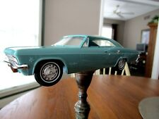 1965 Chevrolet Impala SS 327 Factory GM Turquoise Friction Promo Mint Condition