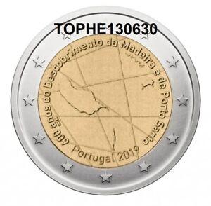"PORTUGAL COMMÉMORATIVE 2019 ""  MADERE "" 2 EURO - NEUVE UNC -"