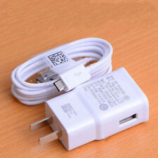 """For Samsung Galaxy Tab A 10.1 4 7.0 8.0 S2 9.7"""" Wall Adapter + USB Charger"""