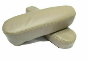 Fits 05-10 Honda Odyssey Synthetic Leather Seat Armrest Cover Beige