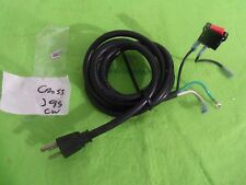 Treadmill Power Cord  W/ switch Fits Most  Treadmills Replacement