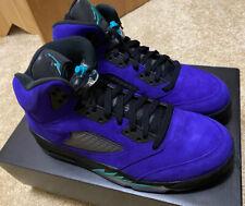 Jordan 5 Retro Alternate Grape V Purple Size 10.5 Men's Nike Shoes New DEADSTOCK