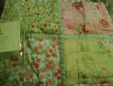 New Pottery Barn Kids PINK Ava Patchwork Small SHAM  Floral hard to find yellow