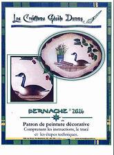 Art Adult Painting Book Création Gisèle Dumas Bernache French Instruction