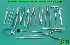 Extraction Set Dental Instruments Extracting Forceps Surgical Instruments DN-580